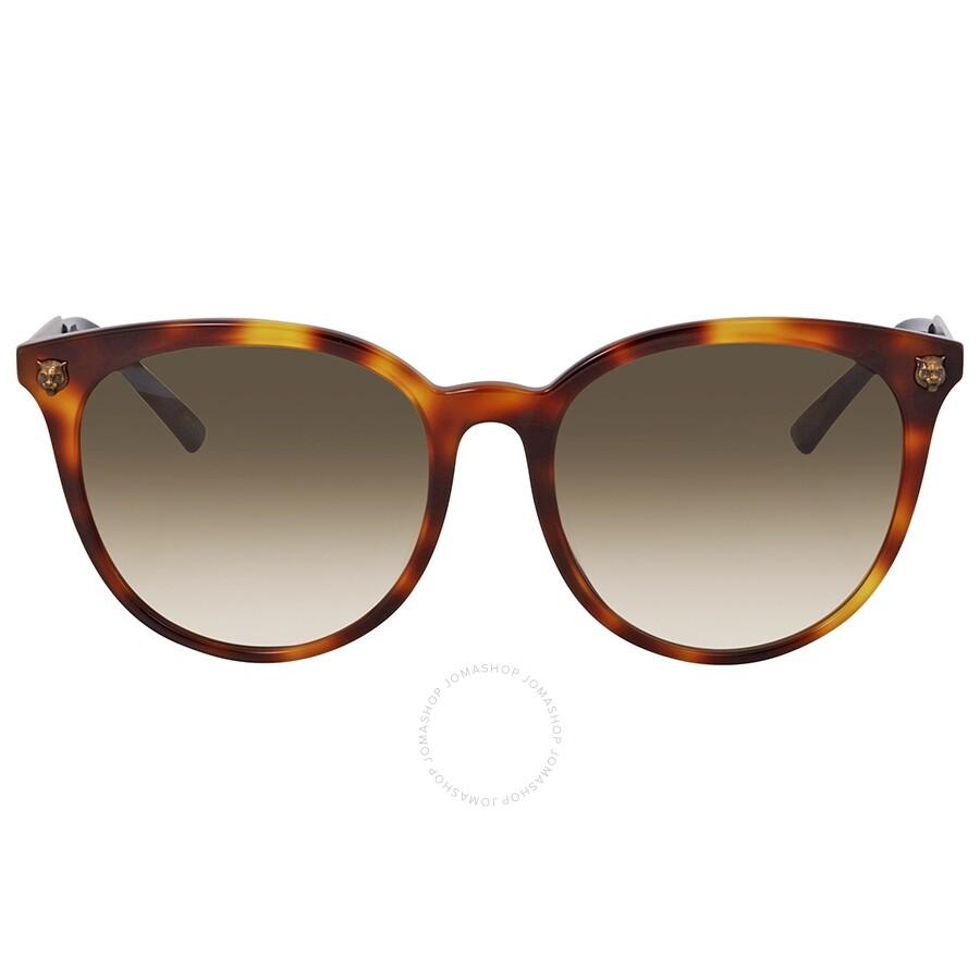 d84eb02914 Gucci Brown Gradient Cat Eye Sunglasses GG0224SK-005 56 - Gucci ...
