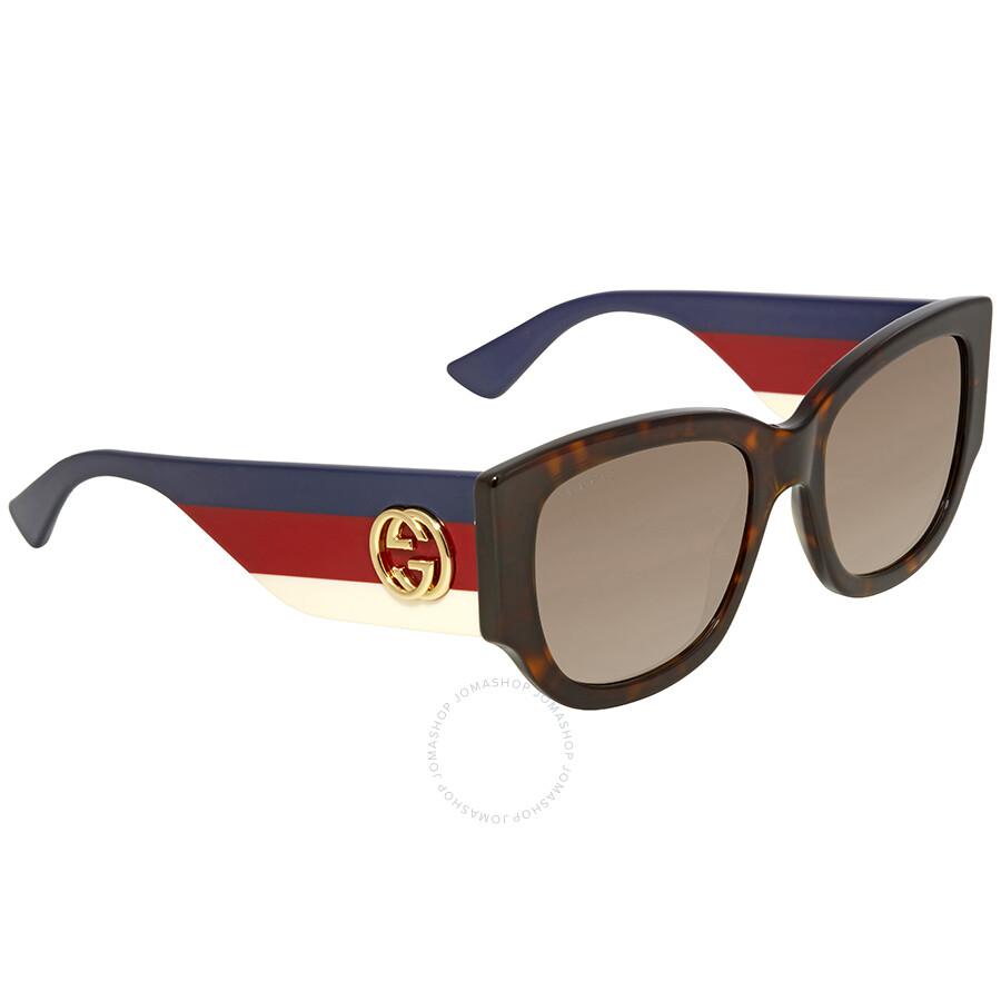 0dab9dbb6fb Gucci Brown Gradient Sunglasses GG0276S-002 53 - Gucci - Sunglasses ...