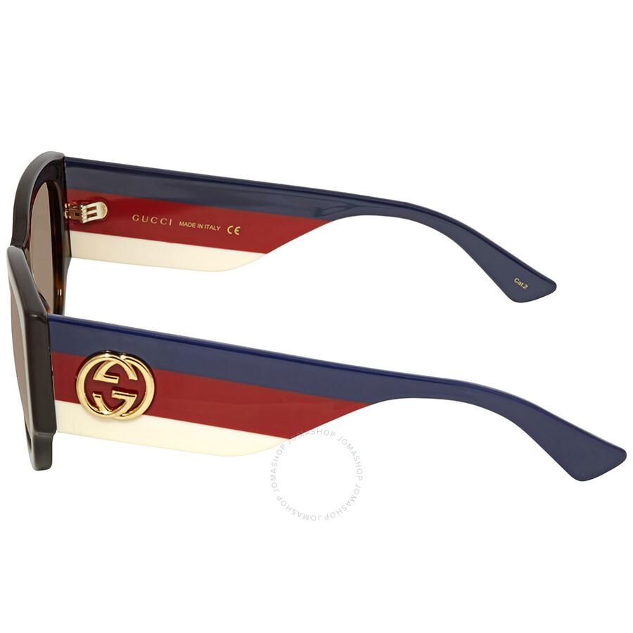 0a14eb561f9 Gucci Brown Gradient Sunglasses GG0276S-002 53 - Gucci - Sunglasses ...