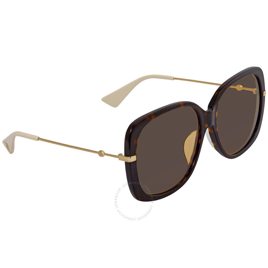 Gucci Rectangular Ladies Sunglasses
