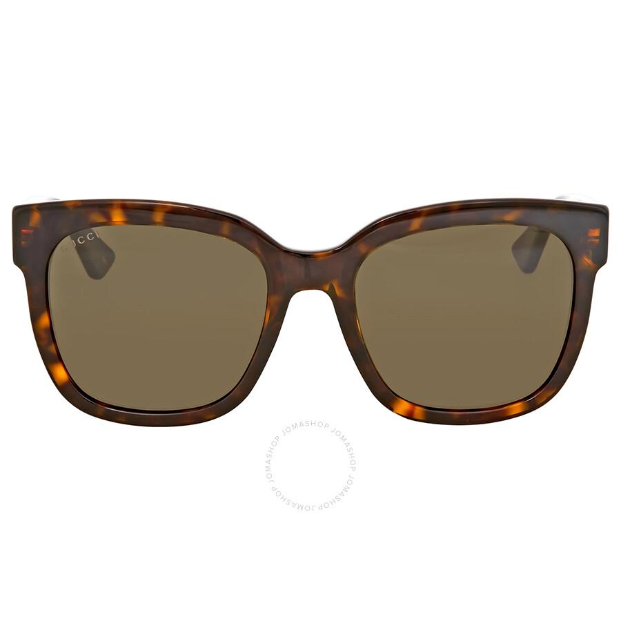 15b309aa8af Gucci Brown Square Sunglasses Gucci Brown Square Sunglasses ...