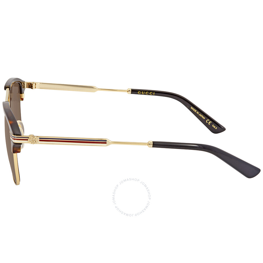 e46788d300bc6 Gucci Brown Square Sunglasses GG0241S 003 54 - Gucci - Sunglasses ...