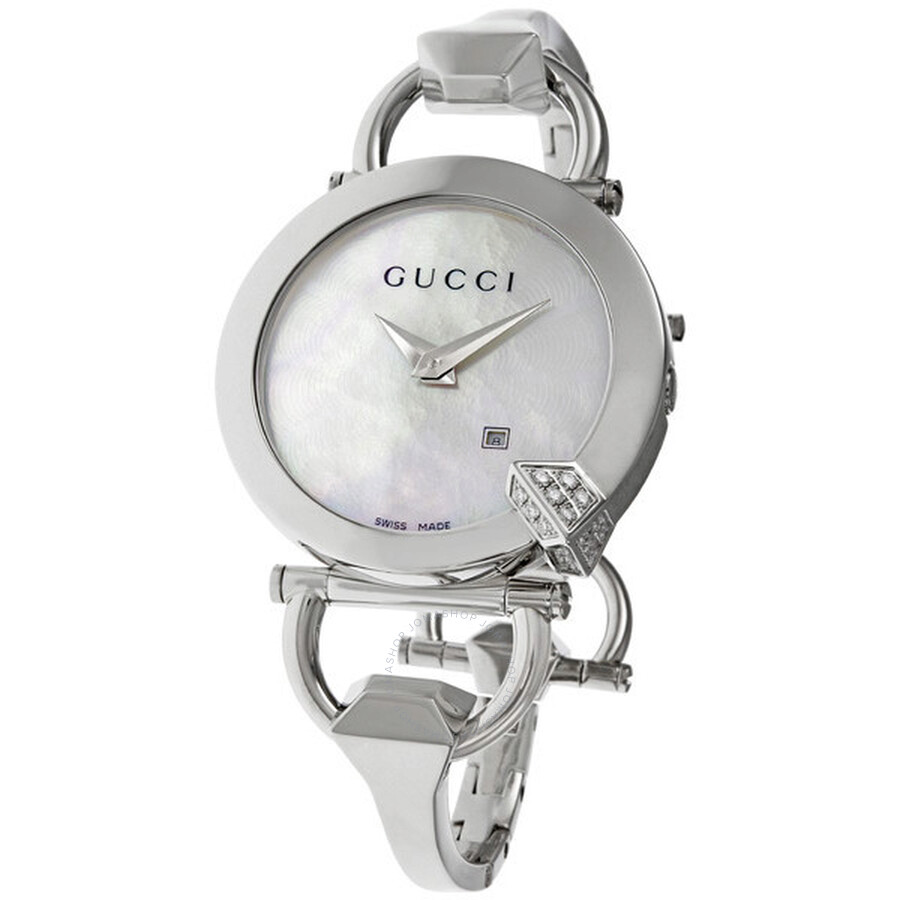 969d129ff2c Gucci Chiodo Ladies Watch YA122505 - G-Chrono - Gucci - Watches ...