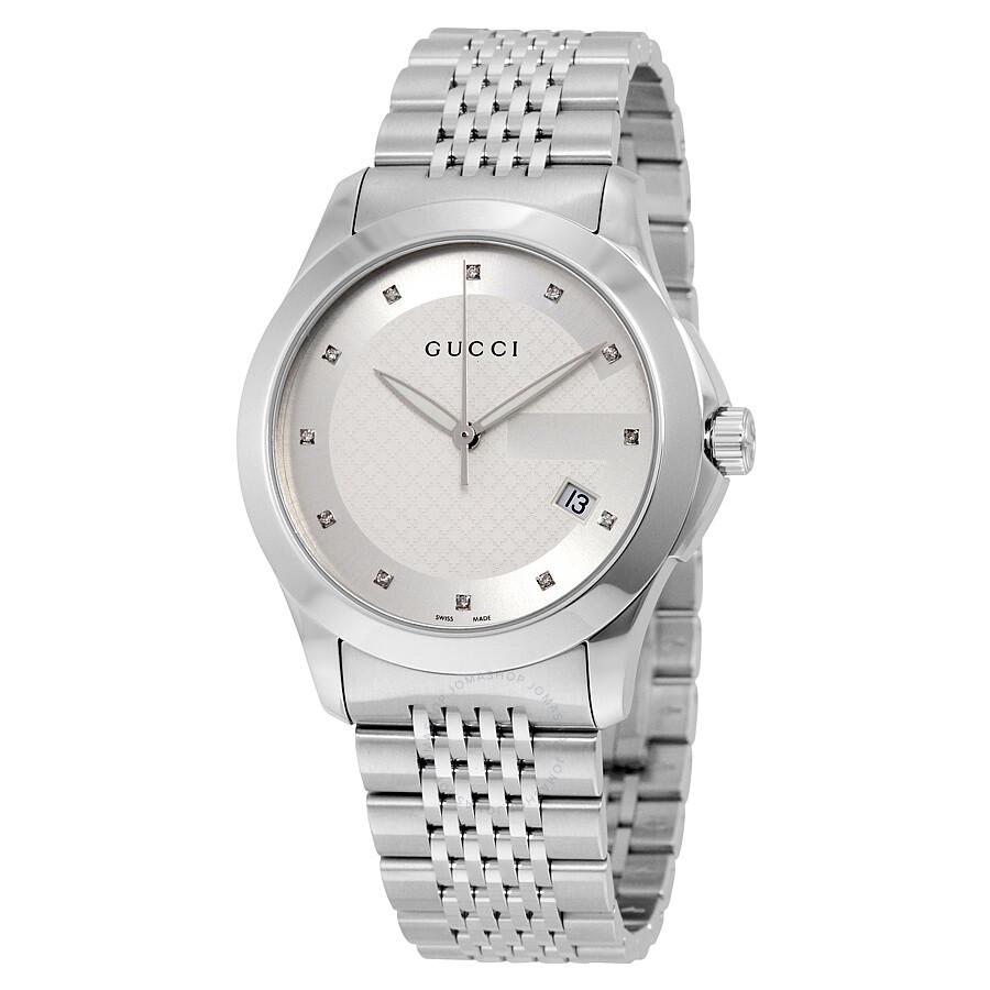 gucci classic men 39 s watch ya126404 g timeless gucci. Black Bedroom Furniture Sets. Home Design Ideas
