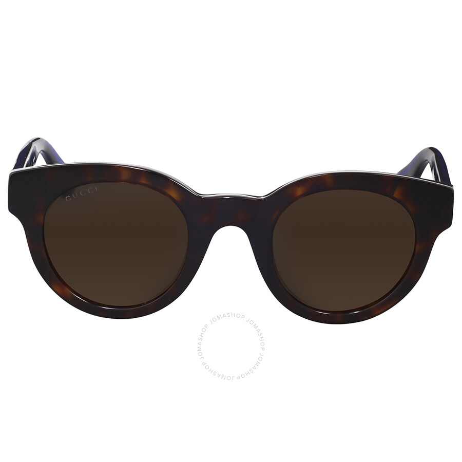 7af6472763 Gucci Dark Havana Round Sunglasses Gucci Dark Havana Round Sunglasses ...