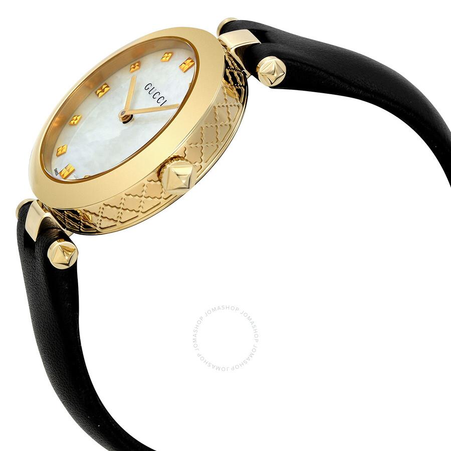 b869e0d4298e Gucci Diamantissima Mother Of Pearl Dial Las Watch Ya141404