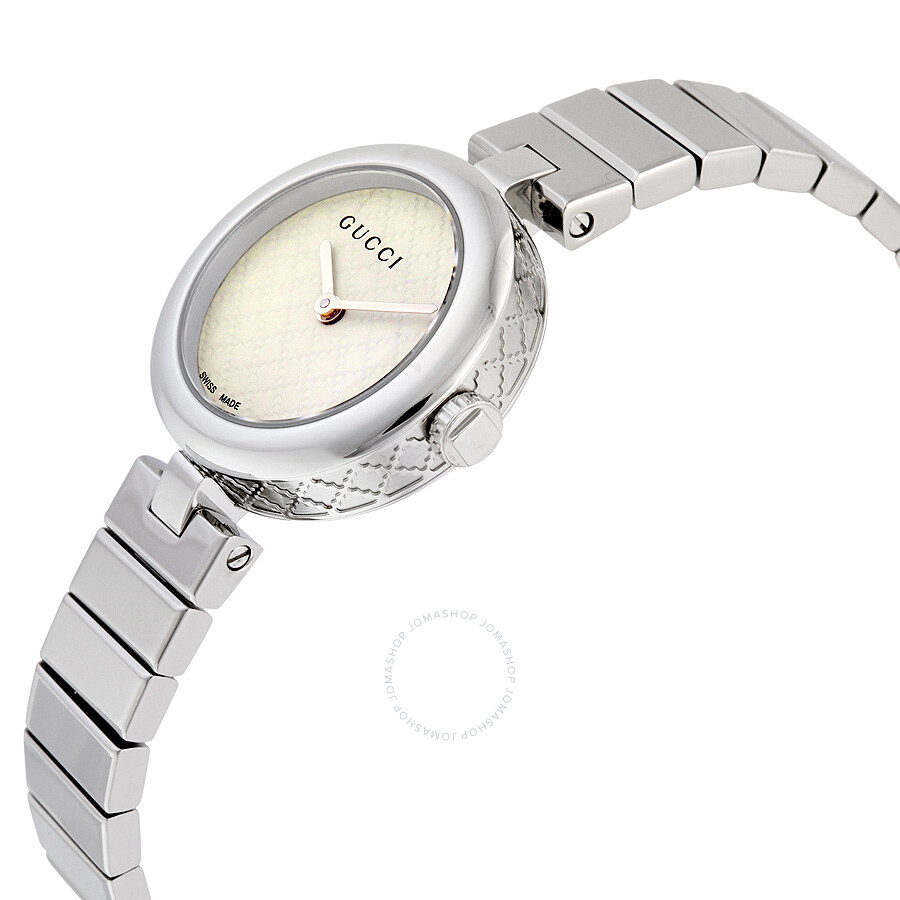 4df4b109d42 Gucci Diamantissima White Dial Ladies Watch YA141502 Gucci Diamantissima  White Dial Ladies Watch YA141502 ...