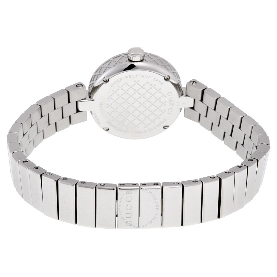 a88b43da3d1 Gucci Diamantissima White Dial Ladies Watch YA141502 - Diamantissima ...