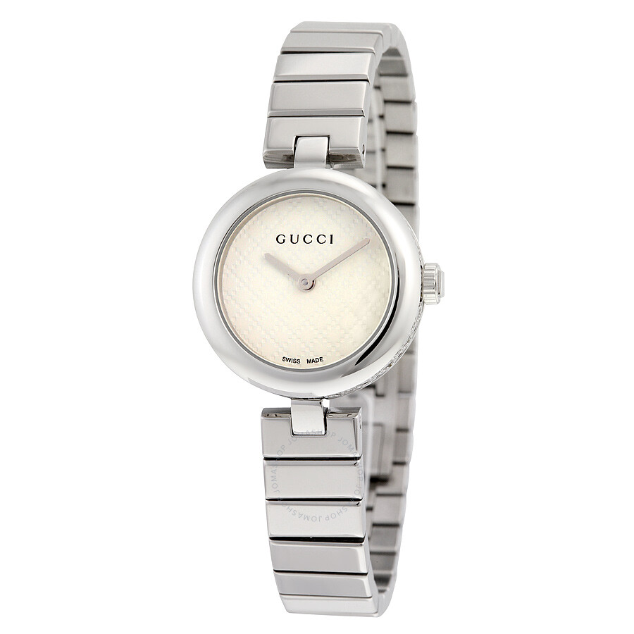 0a5645876522dd Gucci Diamantissima White Dial Ladies Watch YA141502 - Diamantissima ...