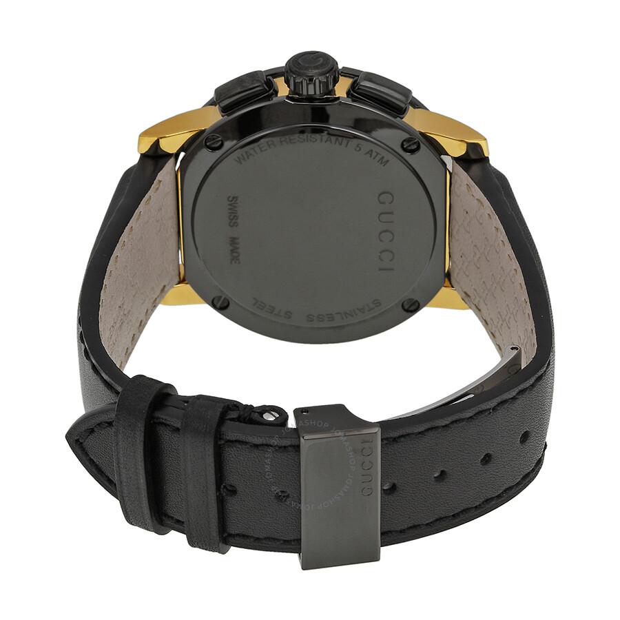 6834195af ... Gucci G-Chrono Chronograph Black Dial Men's Watch YA101203 ...