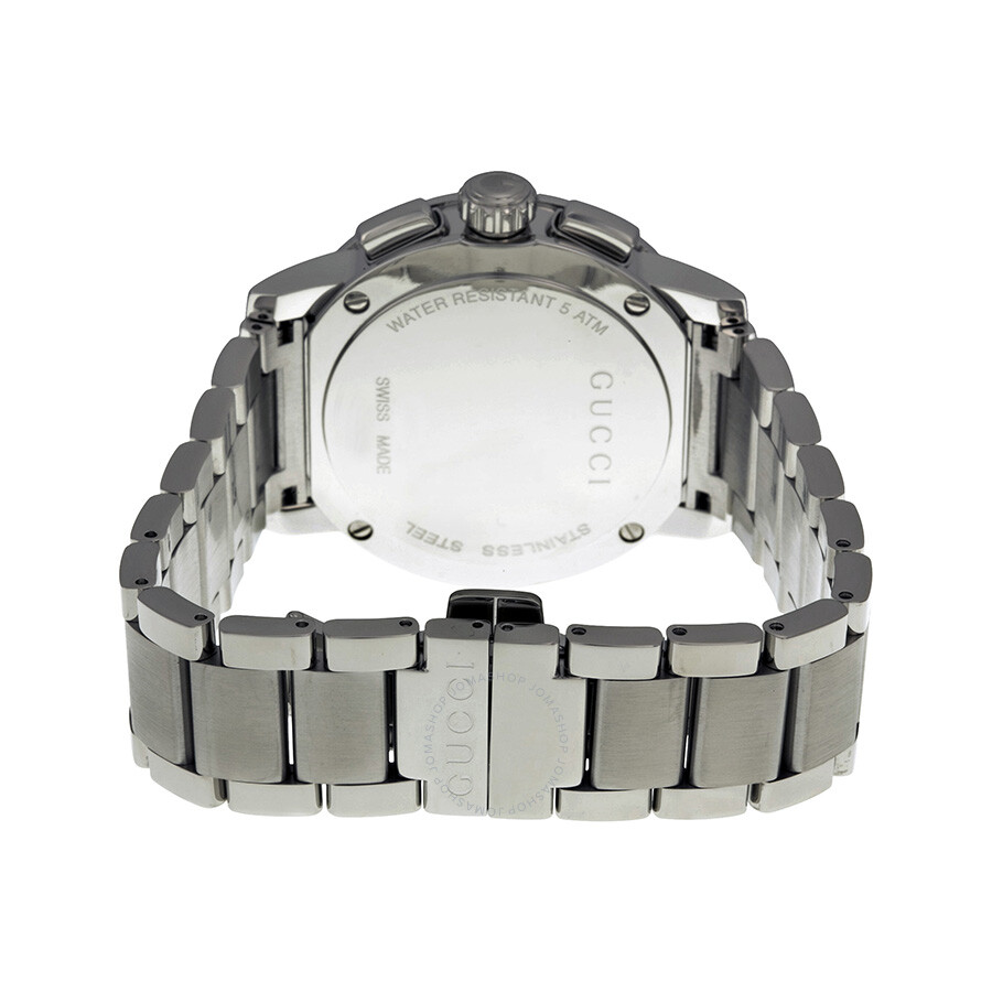 2ee3ff8ce36 Gucci G-Chrono Chronograph Silver Dial Men s Watch YA101201 - G ...