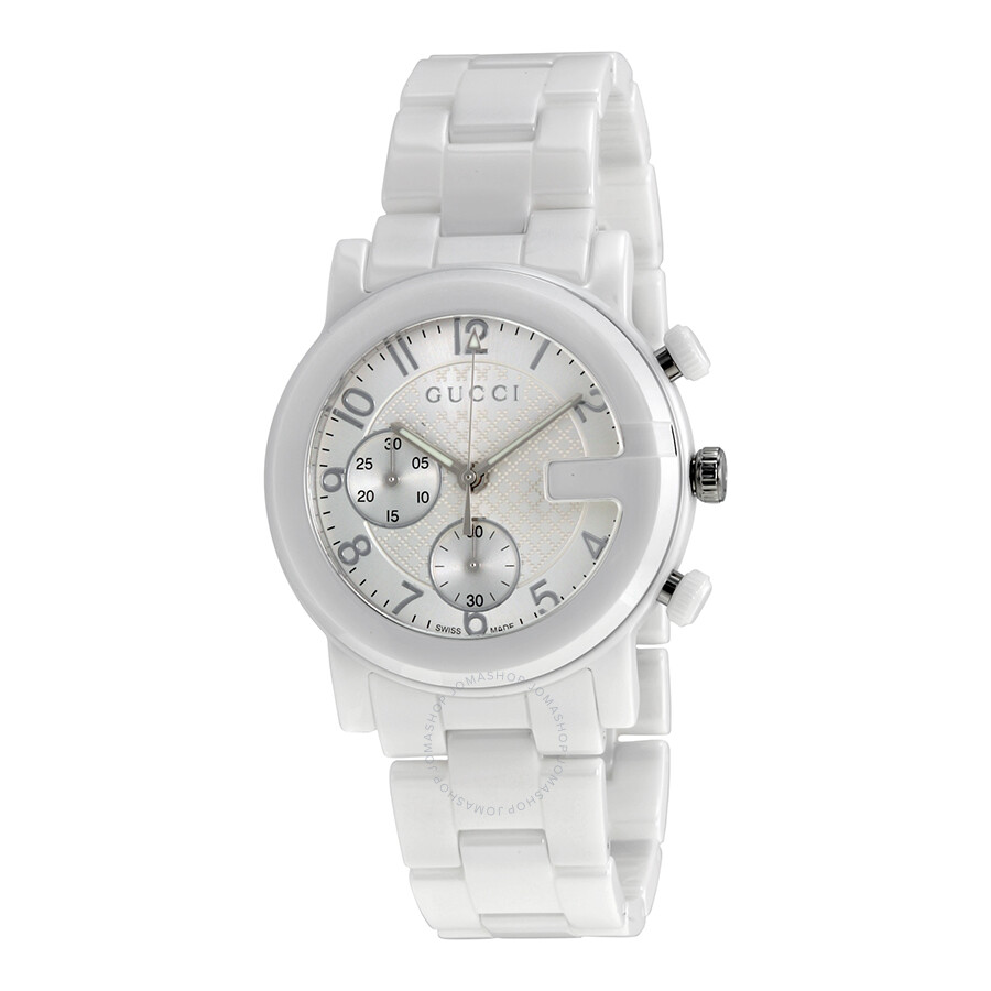 1bb787c4685 white ceramic gucci - 28 images - gucci g chrono chronograph white ...