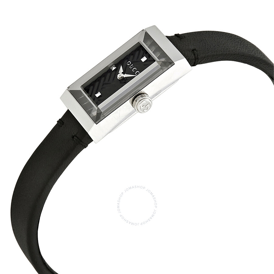 b003b3faeec Gucci G-Frame Black Dial Ladies Watch YA147504 - G-Frame - Gucci ...