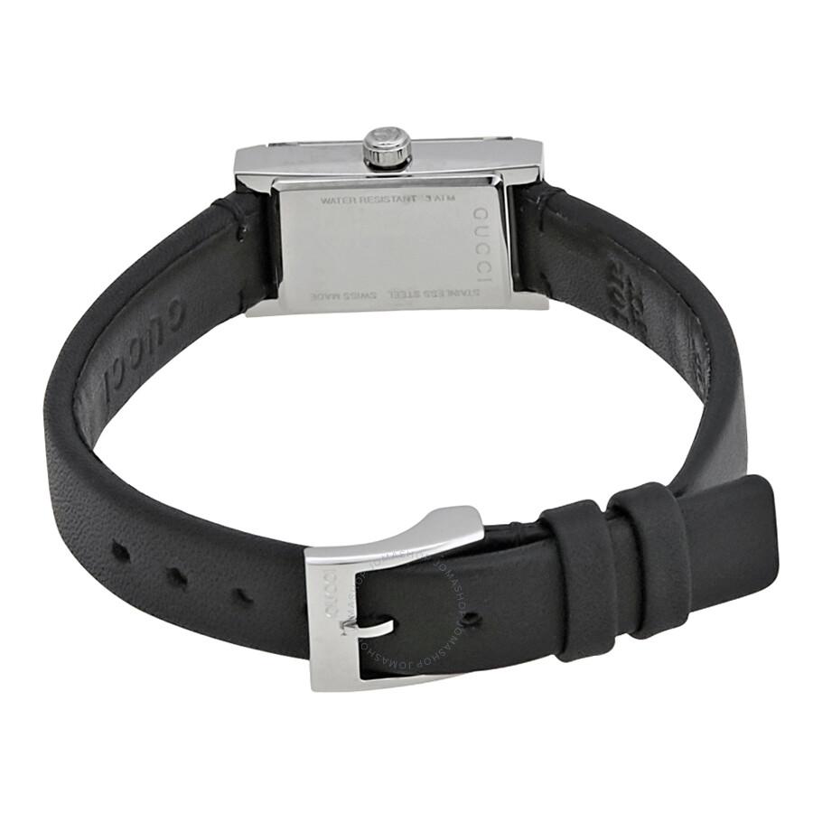 b003b3faeec Gucci G-Frame Black Dial Ladies Watch YA147504 - G-Frame - Gucci ...