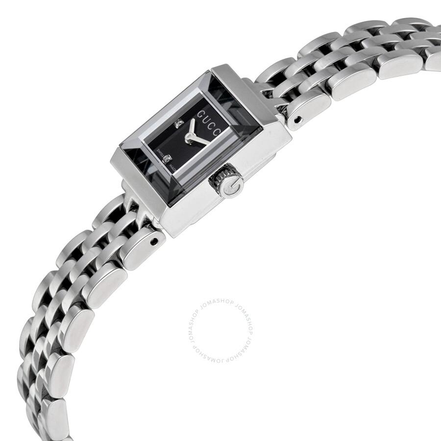 3b3eba7173f Gucci G-Frame Diamond Dial Ladies Watch YA128507 - G-Frame - Gucci ...