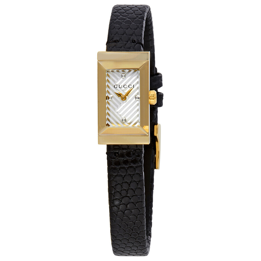 b9e9314c651 Gucci G-Frame Silver Dial Ladies Watch YA147507 - G-Frame - Gucci ...