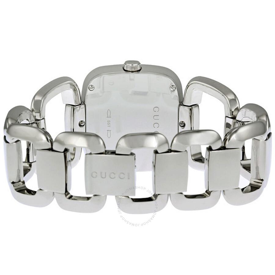 07e43ae7d5b Gucci G-Gucci Stainless Steel Ladies Watch YA125407 - G-Gucci ...