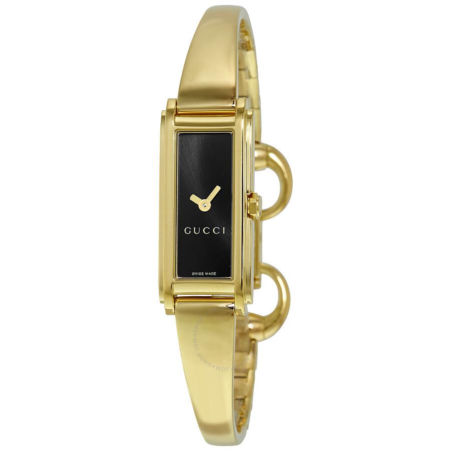 49aa5967aa7 Gucci G Line Ladies Bangle Watch YA109526 - Gucci - Watches - Jomashop