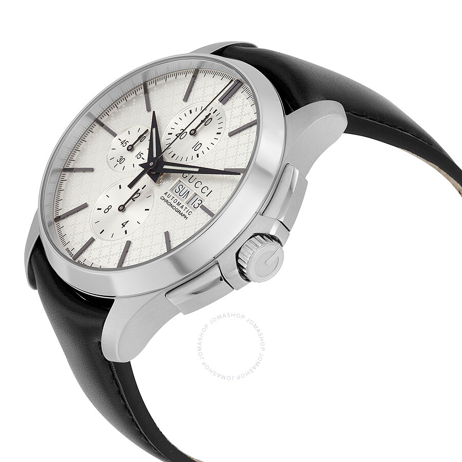 90ddd09f93d Gucci G-Timeless Automatic Silver Dial Men s Watch YA126265 - G ...