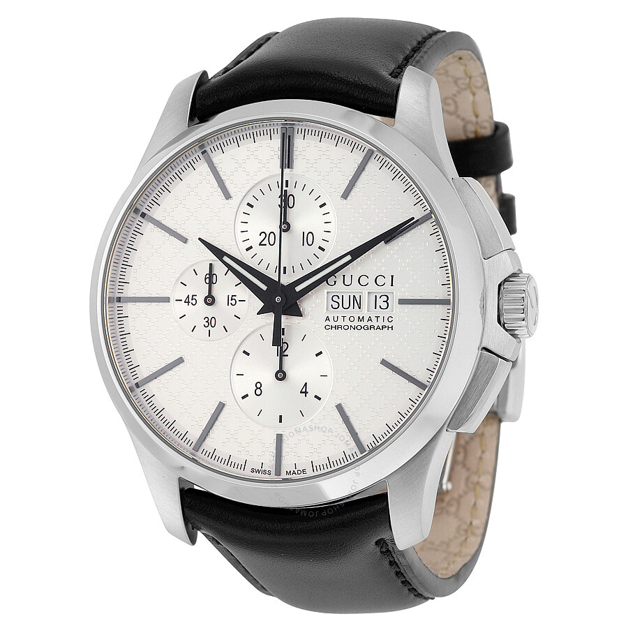 gucci 126 4. gucci g-timeless automatic silver dial men\u0027s watch 126 4