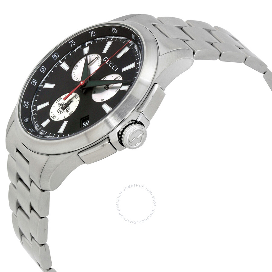 662013a0e78 Gucci G-Timeless Chronograph Black Dial Men s Watch YA126267 - G ...