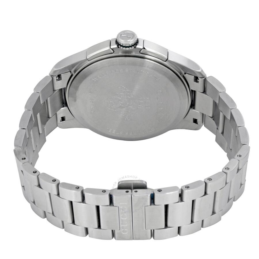 5ec805b0330 Gucci G-Timeless Chronograph Black Dial Men s Watch YA126267 - G ...