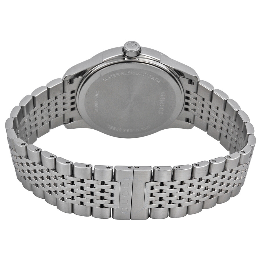 d0802a705f9 Gucci G Timeless Black Dial Diamond Unisex Watch YA126408 - G ...