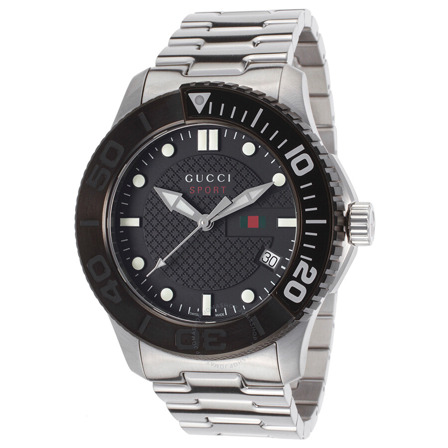 006ffb4cf07 Gucci G-Timeless Black Dial Men s Watch YA126249 - G-Timeless ...