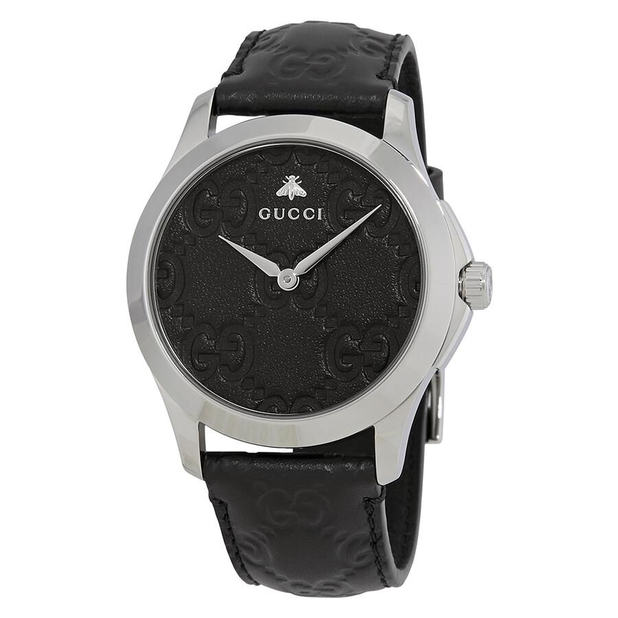 3c04fffc728 Gucci G-Timeless Black Dial Men s Watch YA1264031 - G-Timeless ...