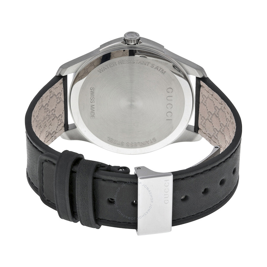 3122114c8c2 Gucci G-Timeless Black Dial Stainless Steel Men s Watch YA126304 - G ...