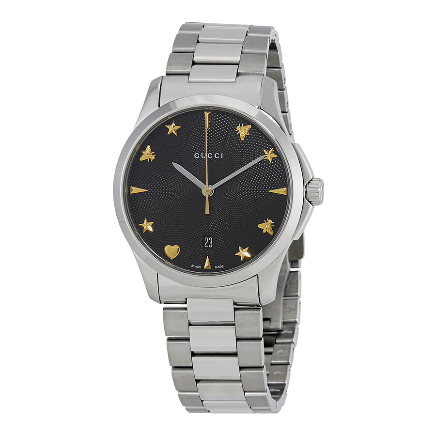789ac1211b9 Gucci G Timeless Black Dial Watch YA1264029 - G-Timeless - Gucci ...