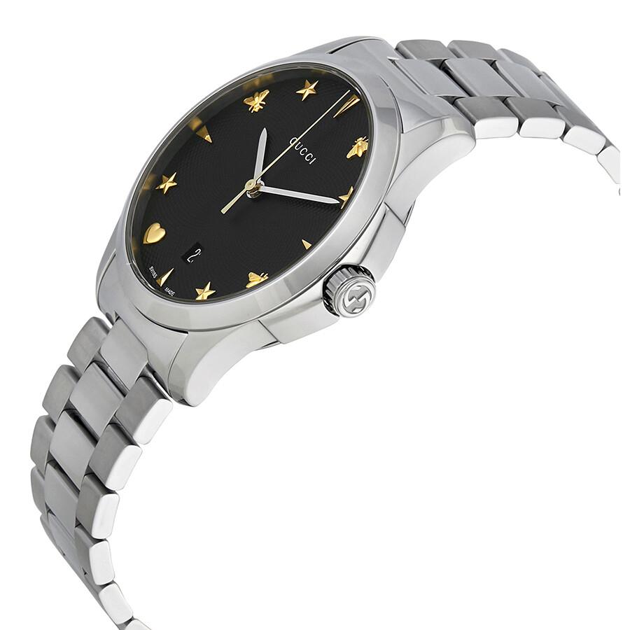 60233aa4cc8 Gucci G Timeless Black Dial Watch YA1264029 - G-Timeless - Gucci ...