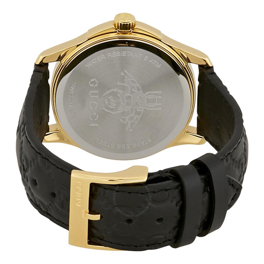 ba242905cd5 Gucci G-Timeless Black GG Dial Ladies Watch YA1264034 - G-Timeless ...