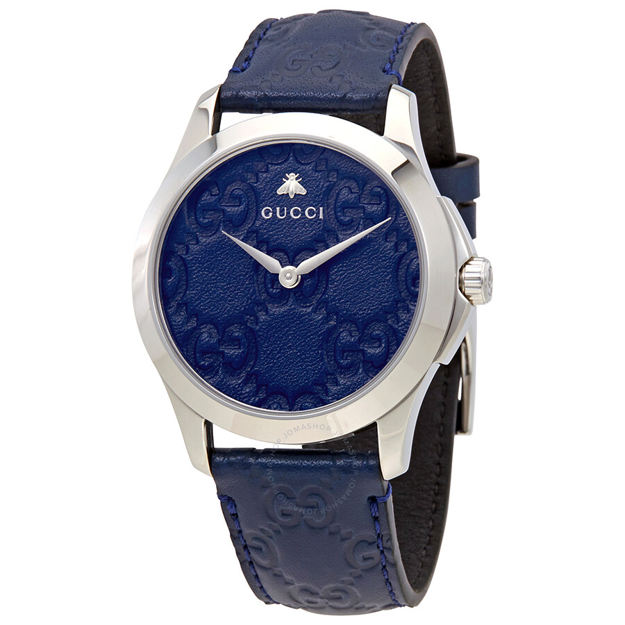 59b13943d42 Gucci G-Timeless Blue Dial Watch YA1264032 - G-Timeless - Gucci ...