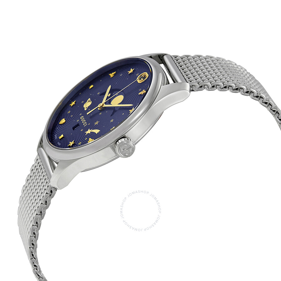 1f9f96bc682 Gucci G-Timeless Blue Motifs Dial Men s Watch YA126328 - G-Timeless ...