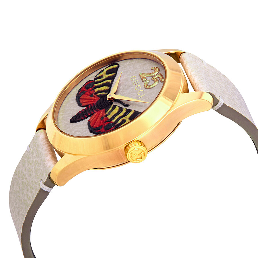 3d4201c29df Gucci G-Timeless Butterfly Dial Ladies Watch YA1264062 - G-Timeless ...