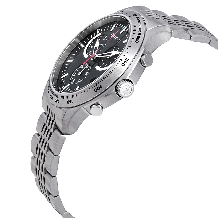 8ae1f4b38e9 Gucci G-Timeless Chronograph Black Dial Men s Watch YA126254 - G ...