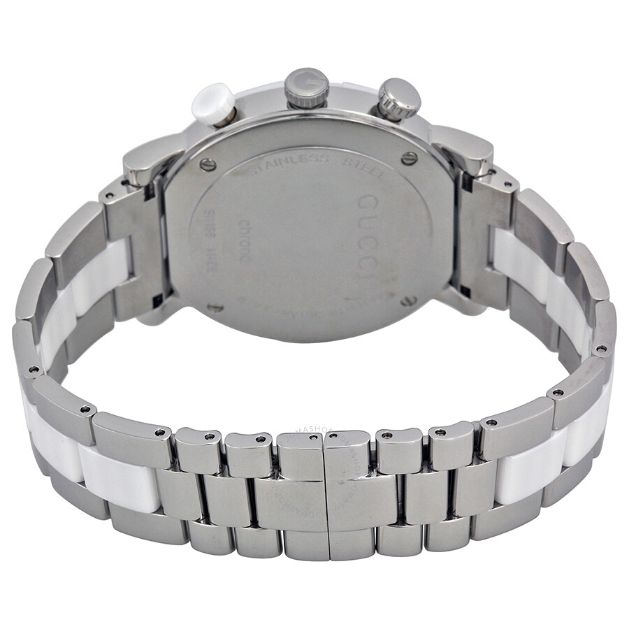 3e8f060969a ... Gucci G-Timeless Chronograph Steel and Ceramic Men s Watch YA101345 ...