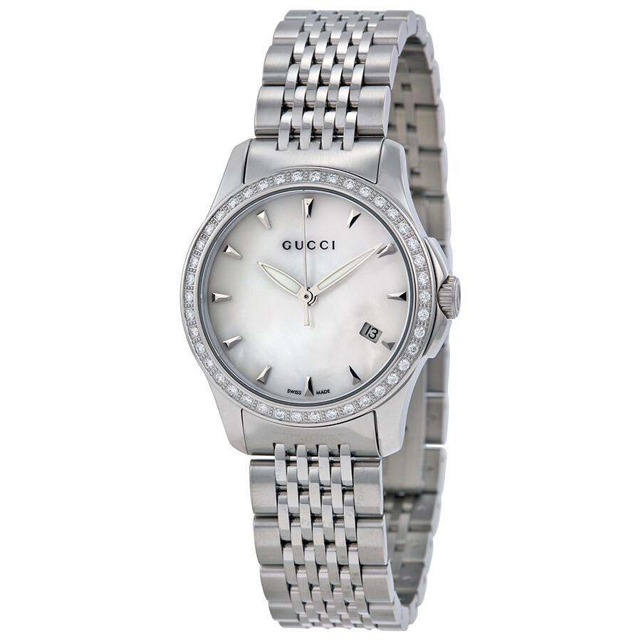 d78c443ec14 Gucci G Timeless Diamond Bracelet Watch YA126506 - G-Timeless ...