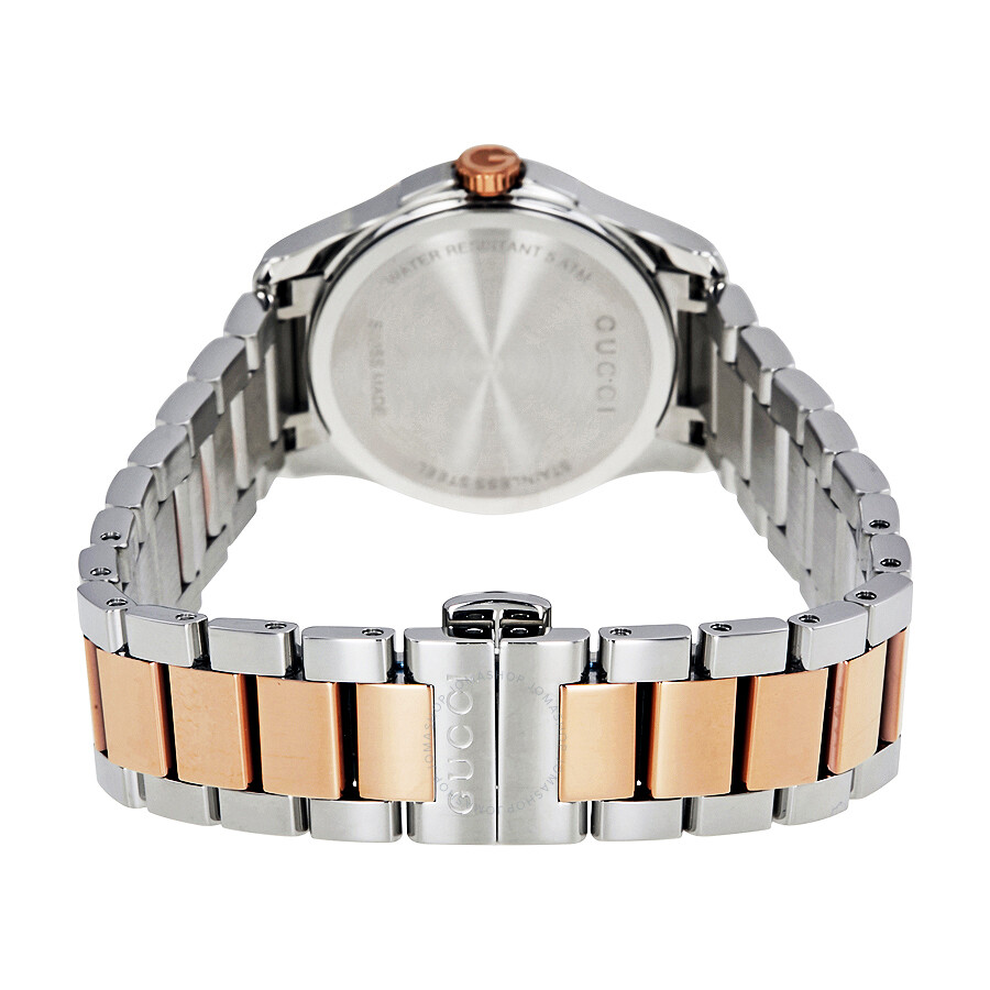 2629e7fae50 Gucci G-Timeless Diamond Mother of Pearl Dial Ladies Watch YA126544 ...