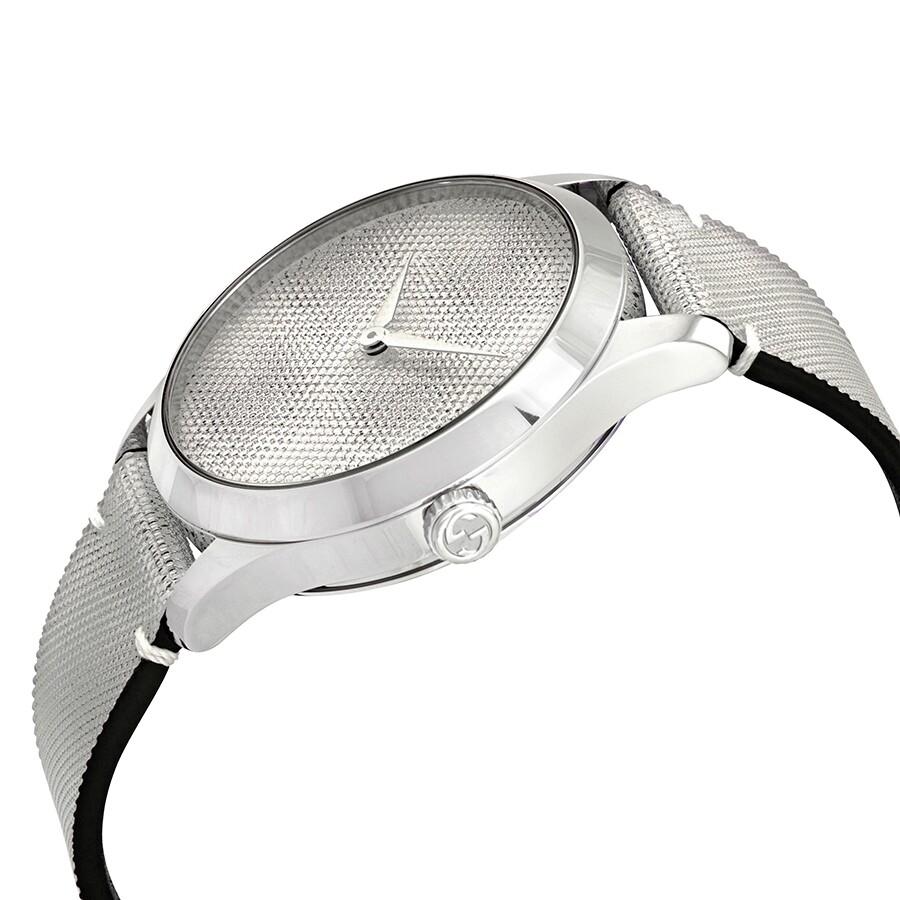 c4275bac874 Gucci G-Timeless GG Motif Hologram Dial Unisex Watch YA1264058 - G ...