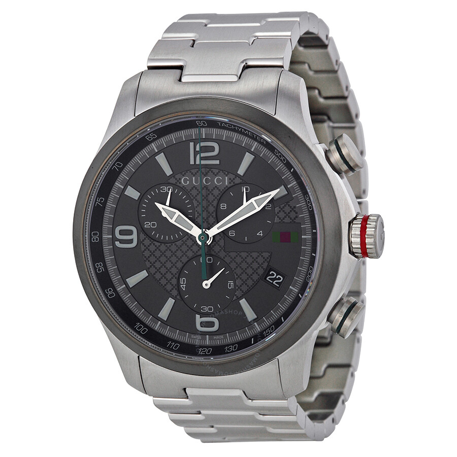3c336bba5 Gucci G-timeless Grey Dial Stainless Steel Men's Watch YA126238 - G ...