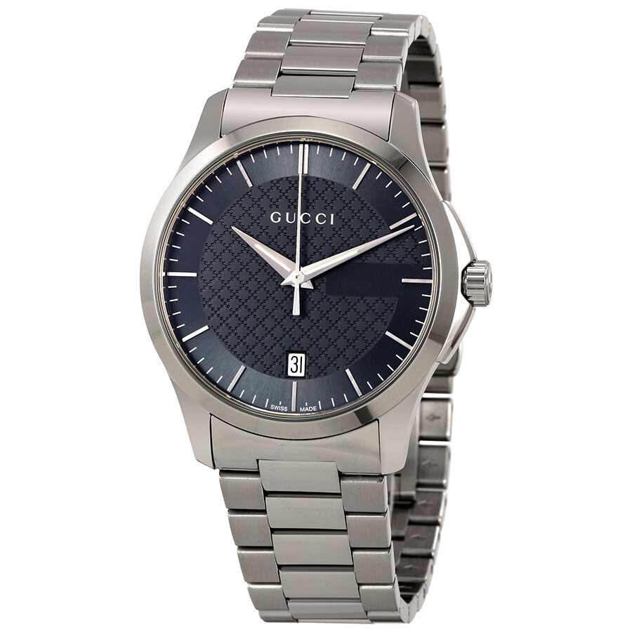 d596daf625e4 Gucci G-Timeless Grey Dial Stainless Steel Unisex Watch YA126441 - G ...