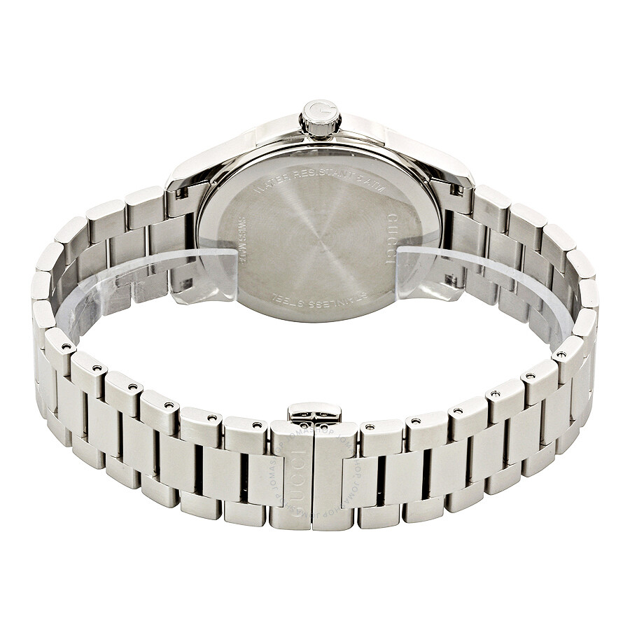 167fe9085a1cd Gucci G-Timeless Grey Dial Stainless Steel Unisex Watch YA126441
