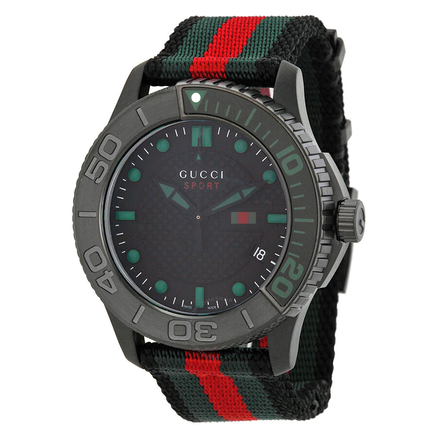 gucci watches for men. gucci g timeless nylon strap men\u0027s watch ya126229 watches for men n
