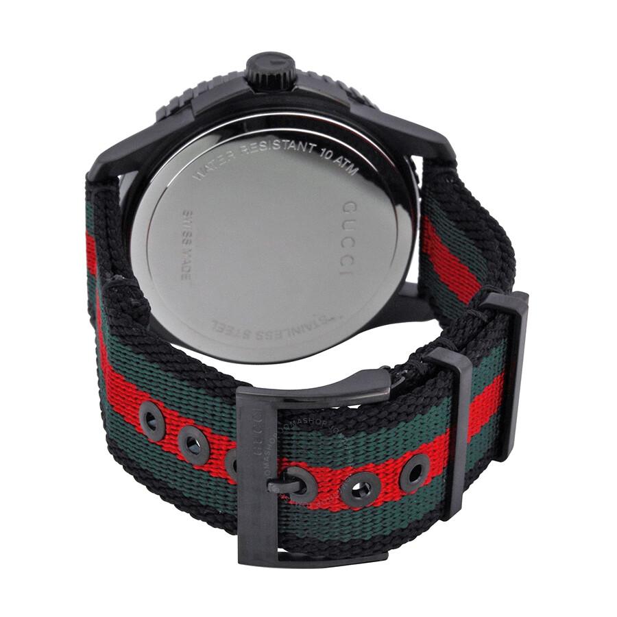 16c5417b470 Gucci G Timeless Nylon Strap Men s Watch YA126229 - G-Timeless ...