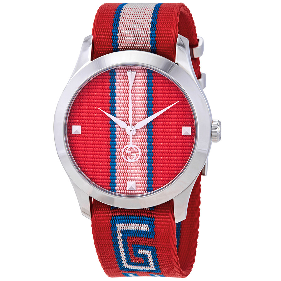 0607ad82f41 Gucci G-Timeless Red and Pink Dial Watch YA1264070 - G-Timeless ...