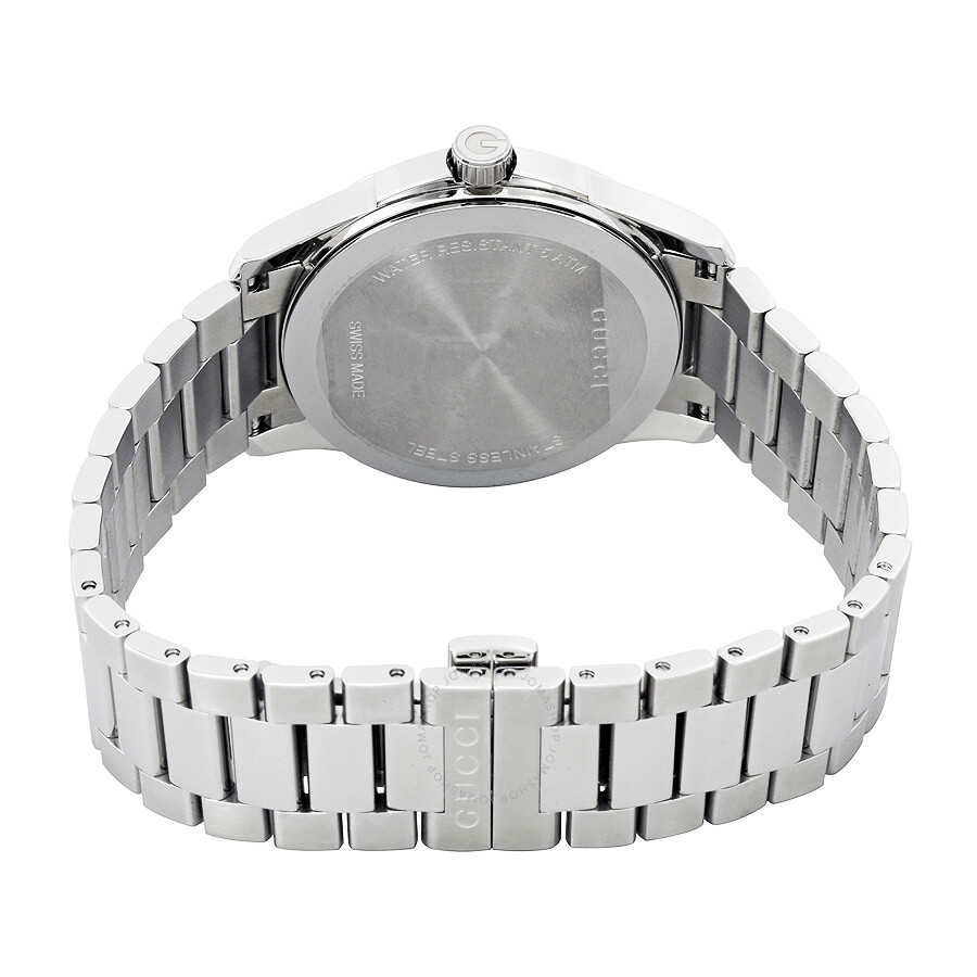 2ae6cef730e Gucci G-Timeless Silver Dial Stainless Steel Unisex Watch YA126442 ...