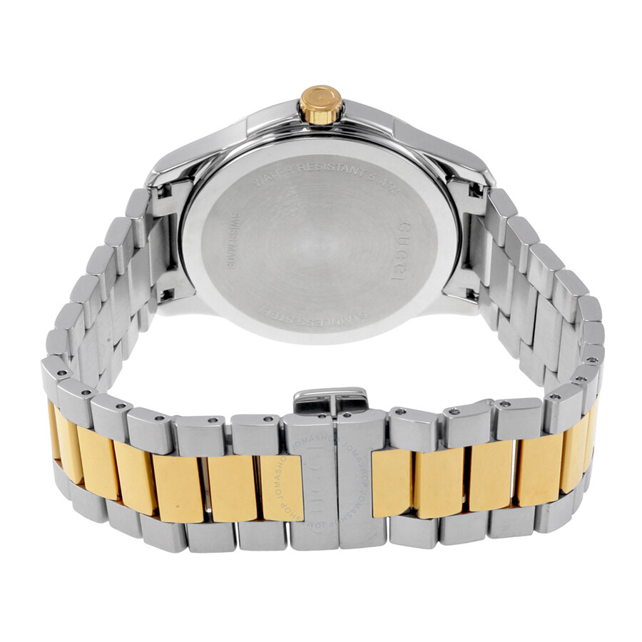 08db31545eb ... Gucci G-Timeless Silver Dial Two Tone Stainless Steel Unisex Watch  YA126450