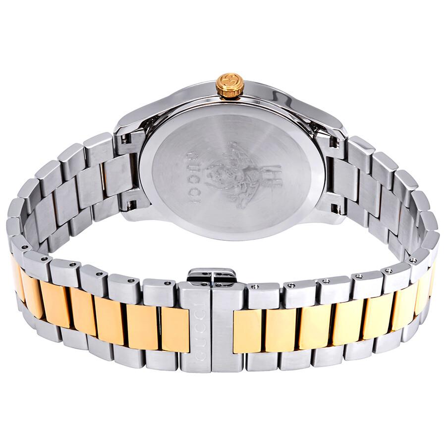 edd078abf9f Gucci G-Timeless Silver with Snake Motiif Dial Watch YA1264075 - G ...